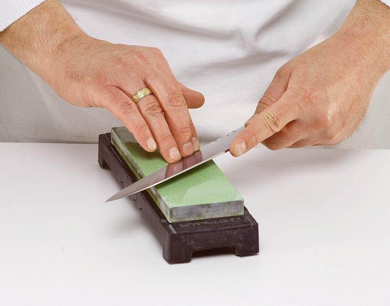 Как затачивать ножи