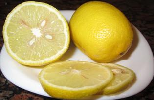 Лимон. Калорийность, польза и вред