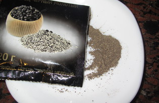 Перец молотый (черный). Калорийность, польза и вред