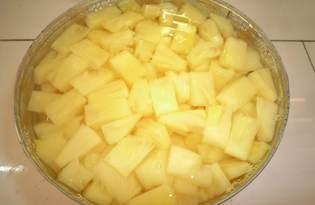 Сок из под консервированных ананасов (пошаговый фото рецепт)