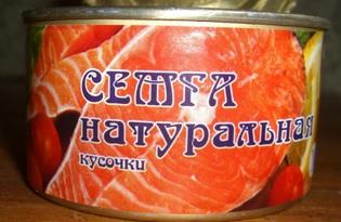 Семга консервированная. Калорийность, польза и вред