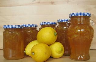 Джем лимонный. Калорийность, польза и вред