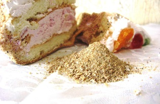 Бисквитная крошка. Калорийность, польза и вред