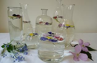 Цветочная вода. Калорийность, польза и вред