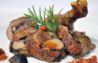Мясо гуся. Калорийность, польза и вред.