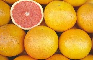 Грейпфрут. Калорийность, польза и вред.