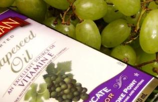 Масло из виноградных косточек. Калорийность, польза и вред.