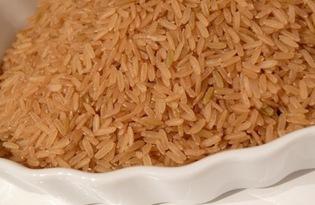 Рис коричневый. Калорийность, польза и вред.
