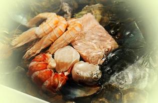 Морепродукты. Калорийность, польза и вред.