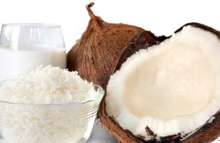 Кокосовое молоко (сухое). Калорийность, польза и вред.