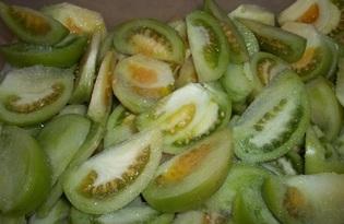 Помидоры маринованные зеленые. Калорийность, польза и вред.