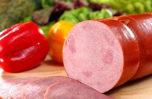 Колбаса ветчинная. Калорийность, польза и вред.