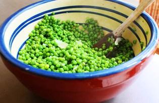 Зеленый горошек. Калорийность, польза и вред.