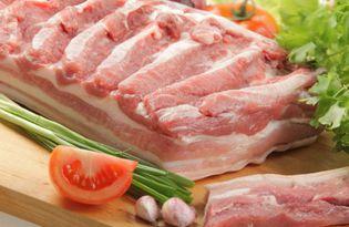 Грудинка свиная. Калорийность, польза и вред.