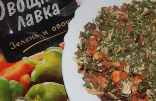 Приправа овощная. Калорийность, польза и вред.