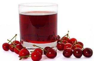 Сок вишневый. Калорийность, польза и вред.