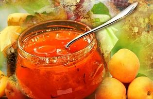 Конфитюр абрикосовый. Калорийность, польза и вред.