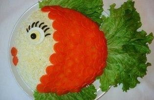 Золотая рыбка (пошаговый рецепт)
