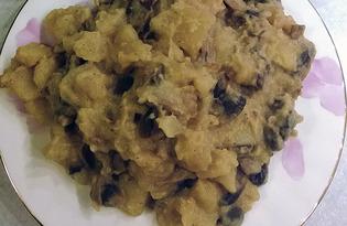 Картофель с грибами в мультиварке Redmond M-4502 (рецепт с пошаговыми фото)