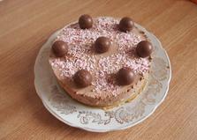 Шоколадно-банановый торт без выпечки (пошаговый фото рецепт)
