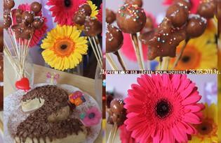 Рецепт пирожных Cake Pops с пошаговым фото
