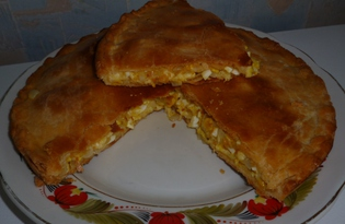 Рецепт лукового пирога с пошаговыми фото