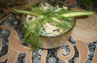 """Рецепт салата из говядины """"Сытный"""" с пошаговыми фото"""