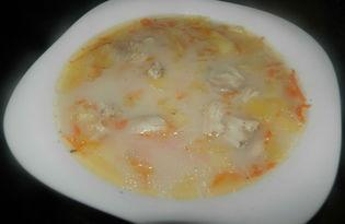 Рецепт сырного супа с курицей с пошаговыми фото