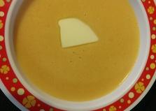 """Рецепт """"Тыквенно-морковный суп-пюре"""" пошаговое фото"""