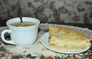 """Пирог творожный """"Изюмная посыпушка"""". Рецепт с пошаговыми фото"""