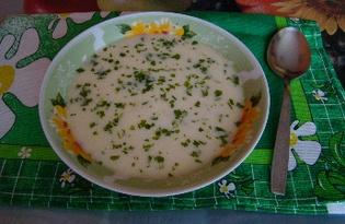 Суп с плавленным сыром (рецепт с пошаговыми фото).