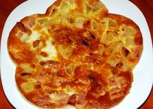 Быстрый омлет с начинкой (пошаговый фото рецепт для аэрогриля)