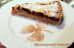 Мраморный чизкейк. Рецепт с пошаговым фото.