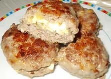 """Рецепт """"Мясные зразы с яйцом"""" пошаговое фото"""
