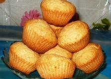 Кексы с начинкой (пошаговый фото рецепт)