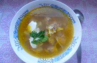 """Рецепт """"Гречневый суп с курицей"""" пошаговое фото"""
