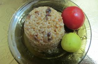 Коричневый рис. Рецепт с пошаговым фото.