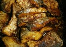 Жареный пангасиус по-домашнему. Рецепт с пошаговым фото.