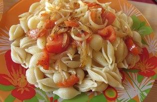 Макароны Сончиглье Ригате с томатами. Рецепт с пошаговыми фото.