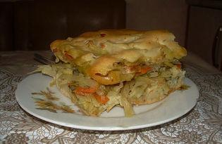 Пирог Ленивец. Рецепт с пошаговыми фото.