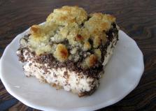 Творожно-маковый пирог. Рецепт с пошаговым фото.