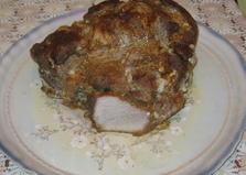 Запечённая свиная лопатка (пошаговый фото рецепт)