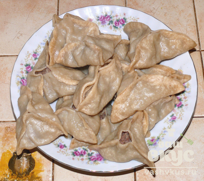 Манты с пошаговый рецепт с пошагово