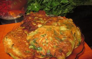 Оладьи со шпинатом (рецепт с пошаговым фото)