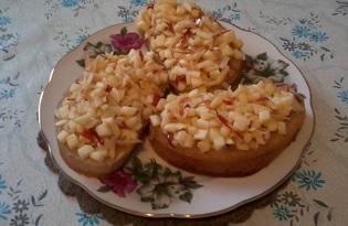 Яблочные бутерброды (пошаговый фото рецепт)