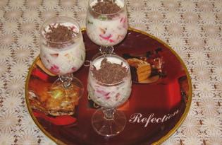 """Десерт """"Мозаика"""" или """"битое стекло"""" (пошаговый фото рецепт)"""