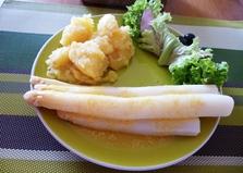 Спаржа с голландским соусом (рецепт с пошаговым фото)