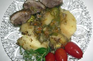 Рождественский гусь с овощами (рецепт с пошаговым фото)
