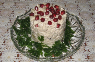 Салат «Капли граната» (рецепт с пошаговым фото)