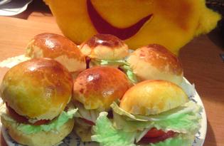 Гамбургер по-домашнему (рецепт с пошаговыми фото)